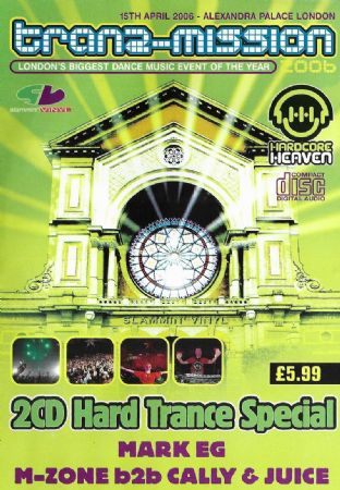 Tranz-Mission - 2006 - 2CD - Hard Trance